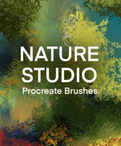 nature studio landscape procreate brushes brushespack