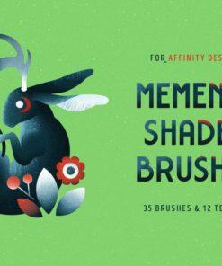 shader brushes for affinity brushespack