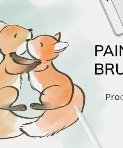 soft texture brushes for procreate brushespack
