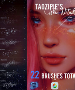 taozipie . skin details for procreate brushespack