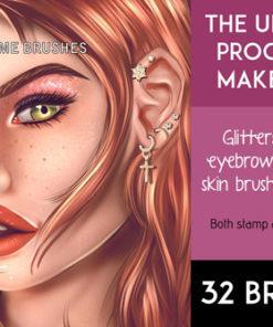 the ultimate procreate makeup kit brushespack