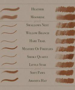 august ro procreate brushes ( ) brushespack