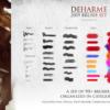 deharme brush for photoshop brushespack