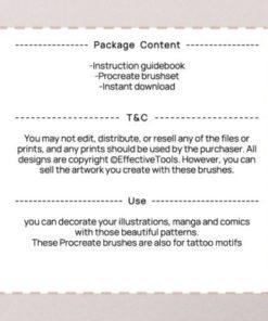 procreate mountain stamp brush ( ) brushespack