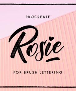 rosie brush for procreate brushespack