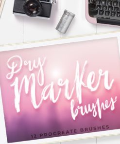 12 dry marker brushes procreate ilustracion sin titulo 8 download now brushespack