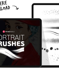 28 brushes for painting incredible portrait details download now brushespack