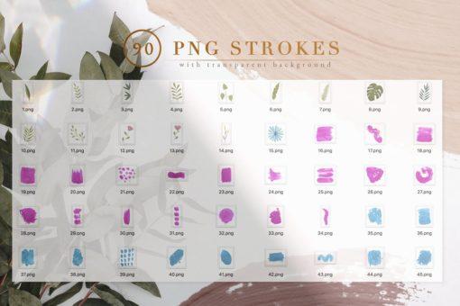 90 procreate photoshop brushes 7 download now brushespack