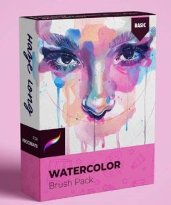 haze long watercolor brushes download now brushespack