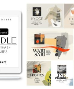 procreate stamp brushes bundle 2020 cover download now brushespack