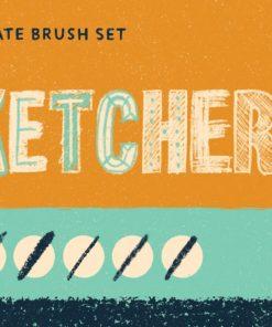 sketchers procreate brush set untitled artwork 40 download now brushespack