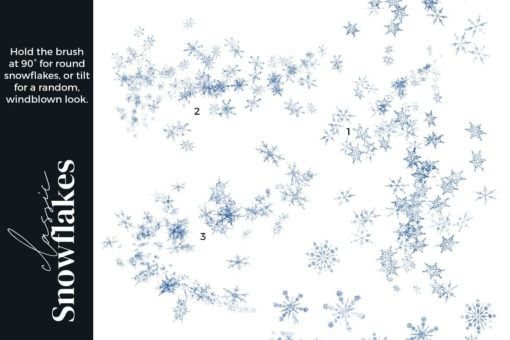 winter magic brushes for procreate 6 download now brushespack