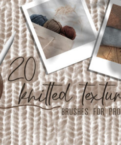knitted texturesbrushes for procreate graphics x download now brushespack