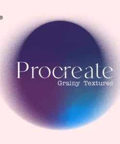 grainy stamps for procreate download now brushespack