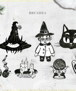 witchcraft photoshop brushes by nassyart x download now brushespack
