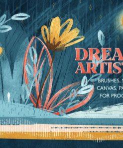 dreamer artist kit download now brushespack