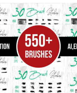 mega grunge brush bundle bundles fb download now brushespack