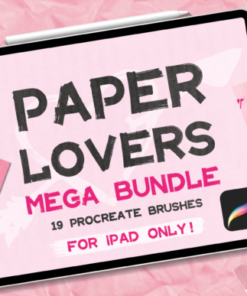 paper texture brush procreate add on graphics x download now brushespack