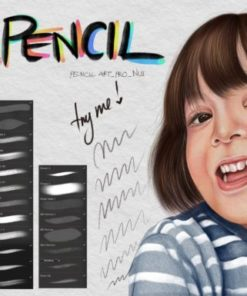 pencil procreate brush graphics x download now brushespack