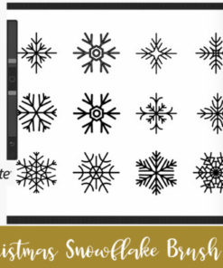 procreate brush stamp christmas ornament graphics x download now brushespack