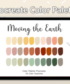 procreate color palette earth tone graphics x download now brushespack