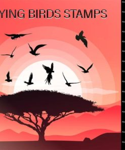 procreate flying birds stamps brushes download now brushespack