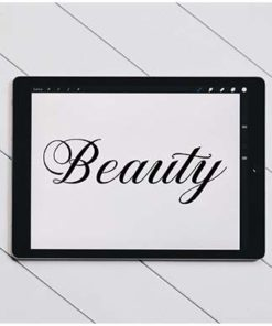procreate hand lettering calligraphy by summerssvg x download now brushespack