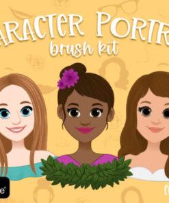 procreate portrait creator brushes graphics x download now brushespack