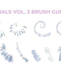 procreate tiedye brush bundle graphics x download now brushespack
