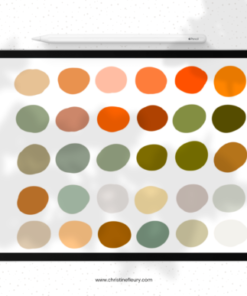 pumpkin patch color palette graphics 6475439 2 580x387 download now brushespack