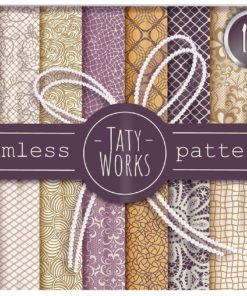 seamless lace patterns brushset download now brushespack
