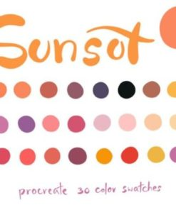 sunset graphics x download now brushespack