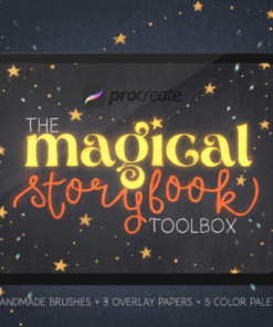the magical storybook toolbox download now brushespack
