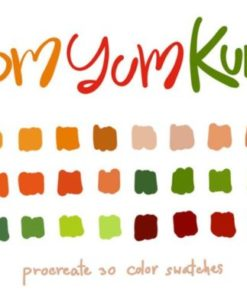 tom yum kung procreate color palettes graphics x download now brushespack