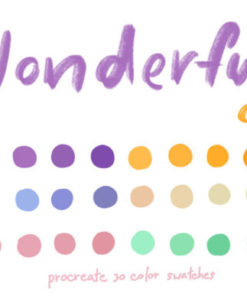 wonderful color graphics x download now brushespack