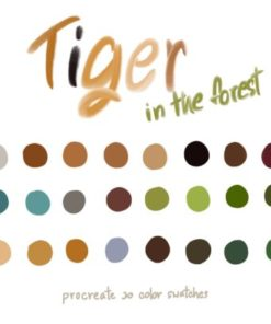tiger in the forest graphics x download now brushespack