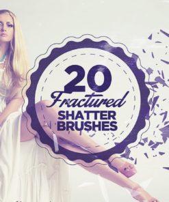 fractured shatter brushes brushespack