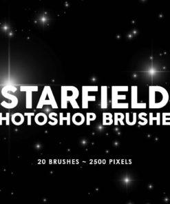 starfield photoshop stamp brushes brushespack