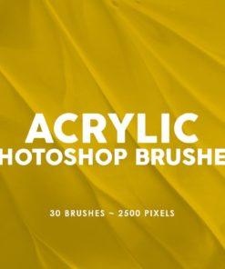 acrylic photoshop stamp brushes vol. brushespack