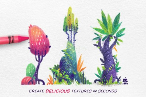 crayon procreate brush pack ( ) brushespack