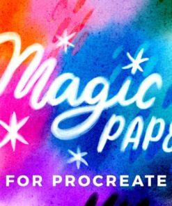magic paper for procreate brushespack