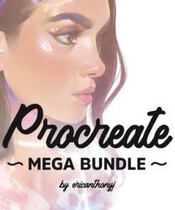 mega pack procreate brushes ( ) brushespack