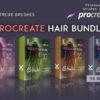 procreate hair bundle brushespack
