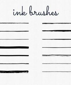 procreate ink brushes ( ) brushespack