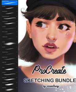 sketching brushes procreate brushes ( ) brushespack