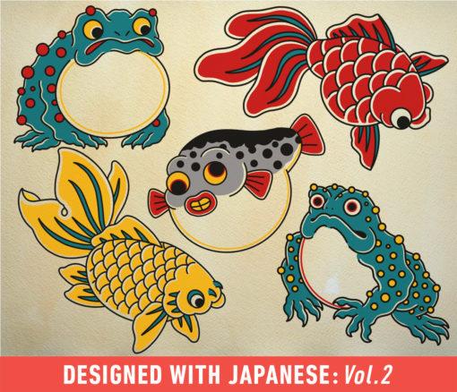tattoo smart procreate brush set japanese vol. ( ) brushespack