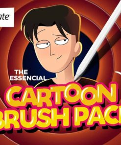 the essential cartoon brush pack for procreate ( ) brushespack
