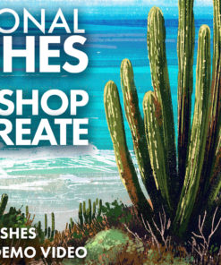 traditional texture brushes for photoshop and procreate ( ) brushespack