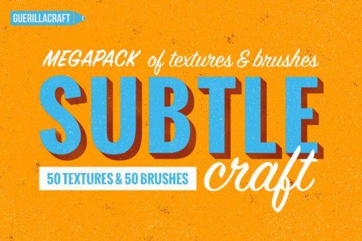 subtlecraft textures and brushes brushespack