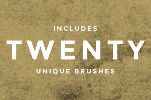 vintage atomic texture brushes ( ) brushespack